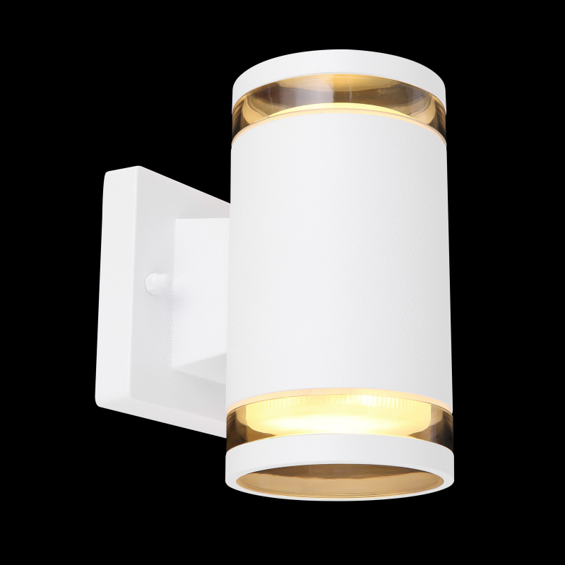 Aplica de exterior aluminiu alb  sticlă transparentă 32063-2W ALCALA