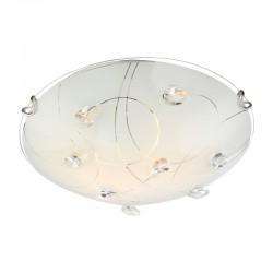 Plafoniera nichel mat cristale K5 transparente 40414-2 ALIVIA