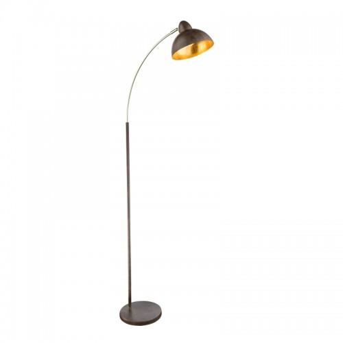 Lampadar metalic ruginiu alamă abajur 24703SR ANITA RABALUX