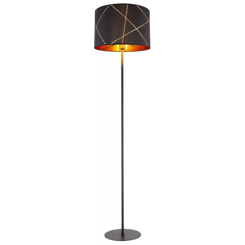 Lampadar metal negru 15431S BEMMO GLOBO