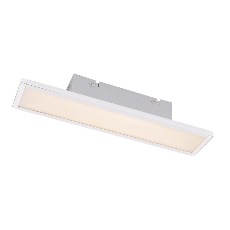 Aplica de perete nichel mat plastic alb mat 41509-6 BURGOS