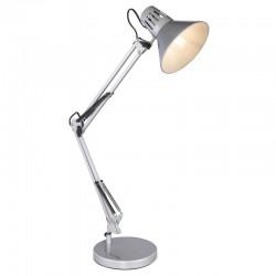 Lampa de birou cu prindere clema  metal argintiu 28049SI CHIFA