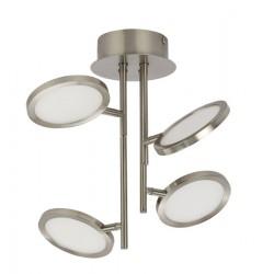 Plafoniera Corsus cu LED structura metalica si dispersor din acril 56005-18 Globo