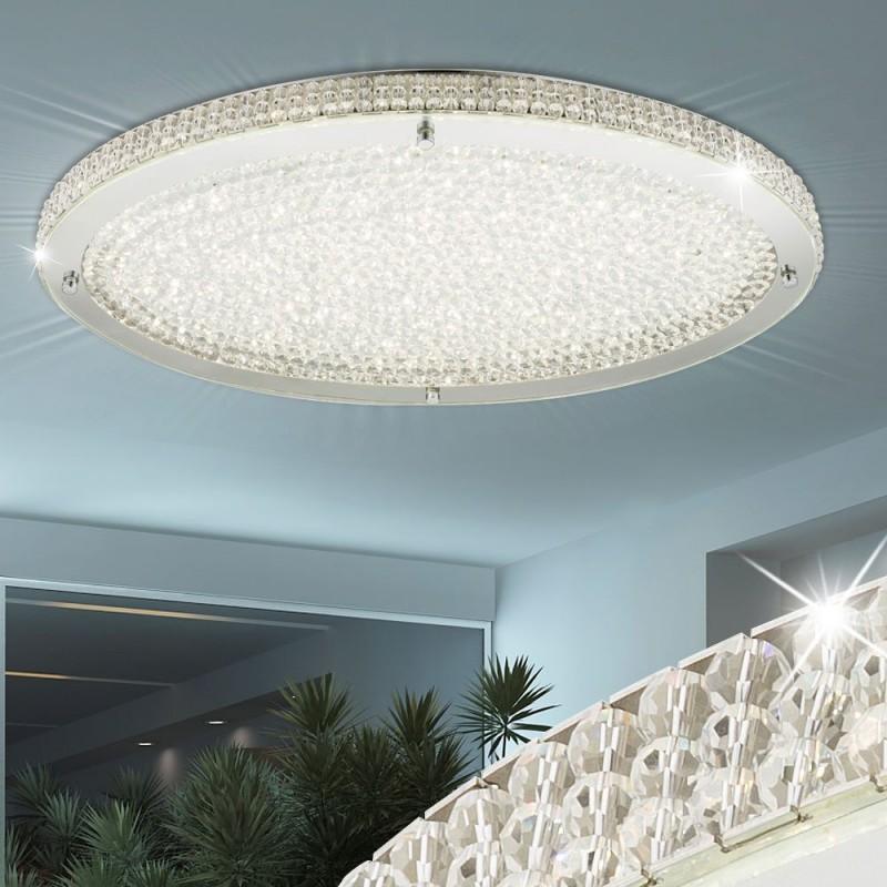 Plafoniera Curado LED cu dispersor din sticla si cristale K5 15683D Globo