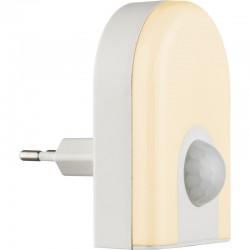 Lampa de veghe plastic alb mufă directă 31931 ENIO I