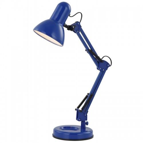 Lampă de birou  albastru  plastic 24883 FAMOUS