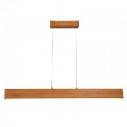 Suspensie nichel mat lemn natural plastic mat dimer tactil 15428-22 MOLINO