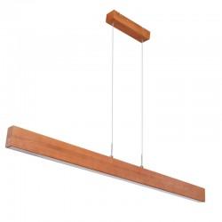 Suspensie nichel mat lemn natural plastic mat 15428-24 MOLINO
