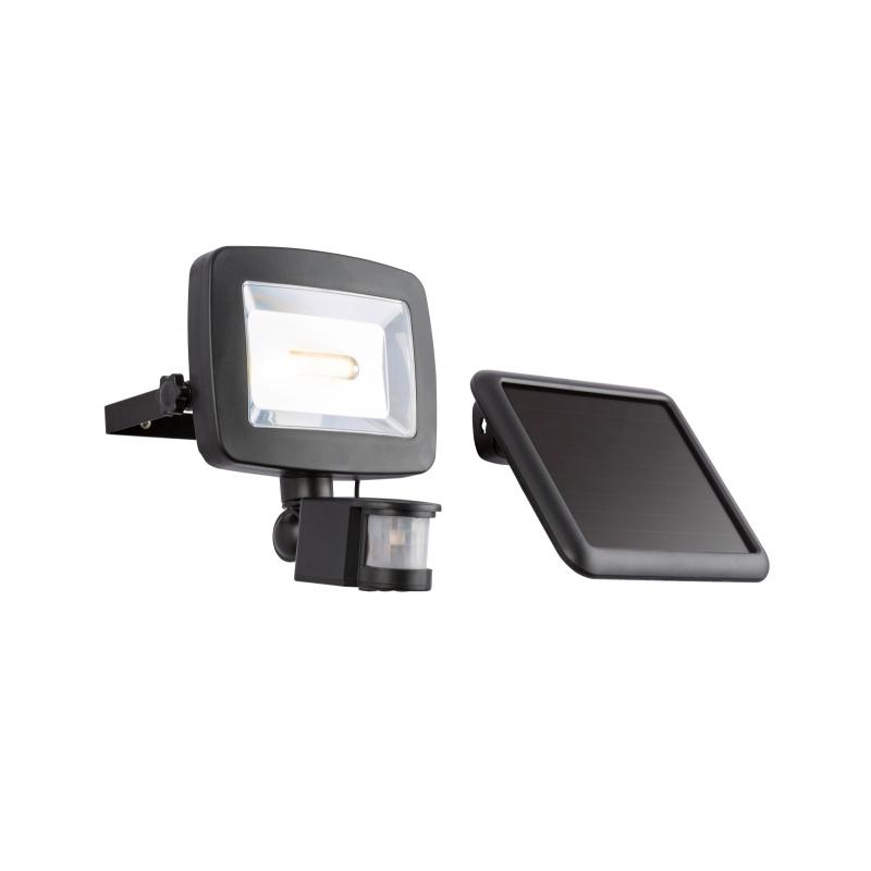 Aplica solar plastic negru plastic transparent 37201S SOLAR