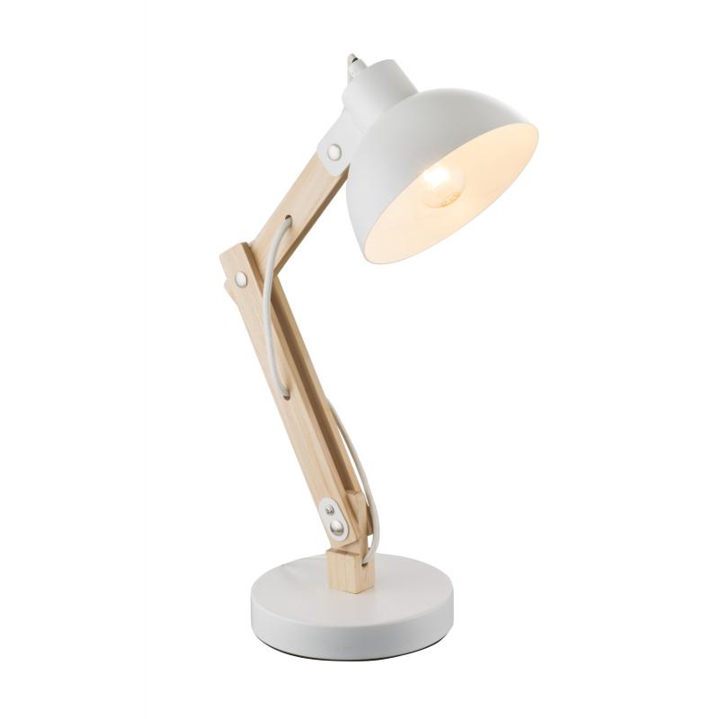 Lampa de birou lemn alb 21502 TONGARIRO