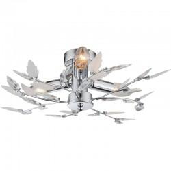 Plafoniera crom cristale acrilice transparente 63100-3 VIDA
