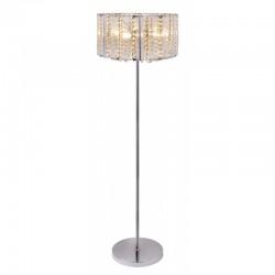 Lampadar modern metal lucios/cristale 15091S WALLA