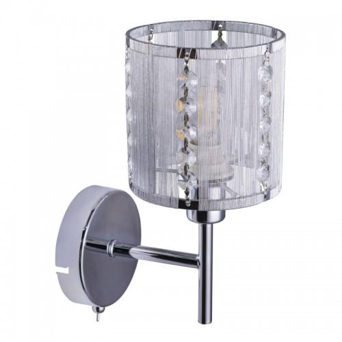 Aplica perete moderna metal lucios/cristale  15091W WALLA