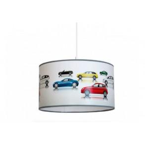 Suspensie Cars cu structura metal si abajur color KL 6589  Klausen