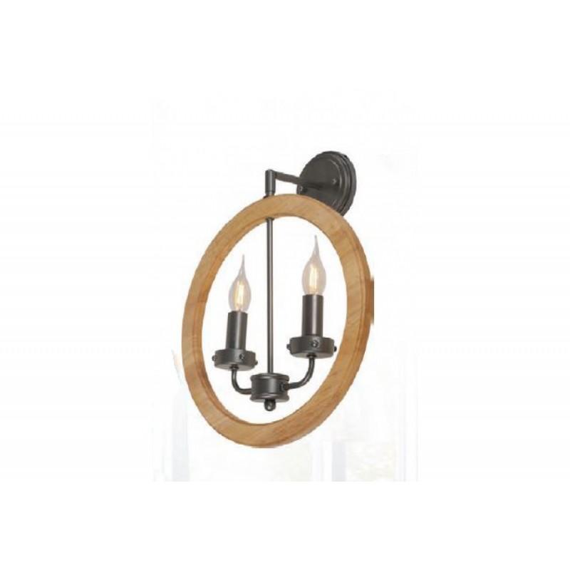 Aplica Cesena cu structura metal+lemn KL 6346 Klausen