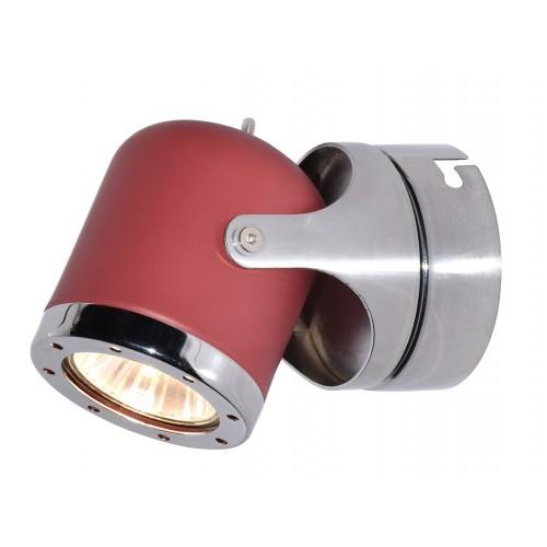 LAMPA DE PERETE DIN METAL ROSU APRIL 5037