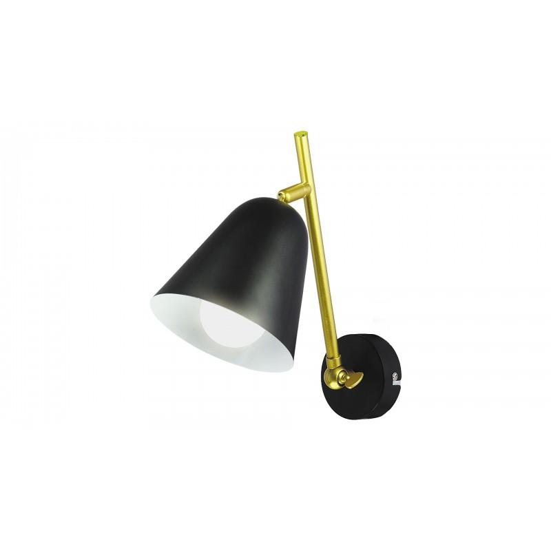 LAMPA DE PERETE STRUCTURA DIN METAL NEGRU ALDER 5375 INDUSTRIAL&NORDIC