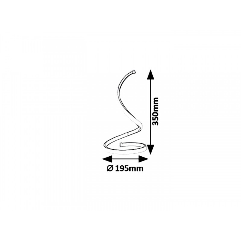 LAMPA DE MASA /VEIOZA METAL AURIU ANAIS 5470