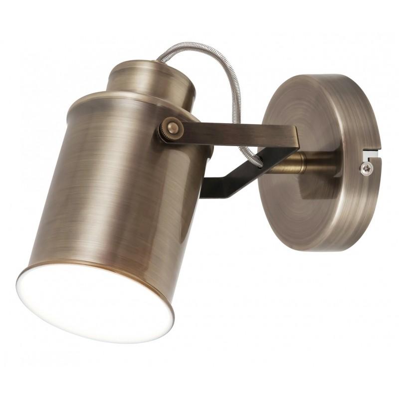 LAMPA DE PERETE METAL / BRONZ ANTICHIZAT PETER 5981 INDUSTRIAL&NORDIC