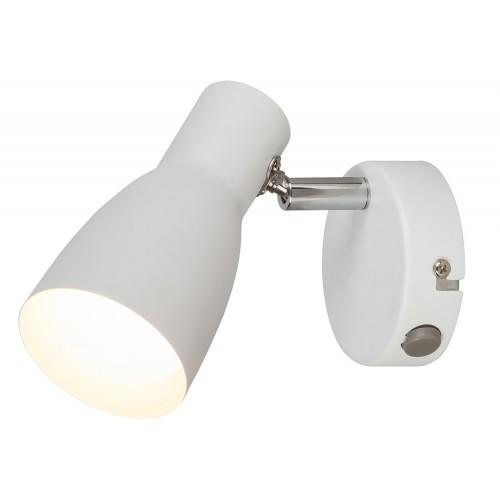 LAMPA DE PERETE METAL ALB EBONY 6025