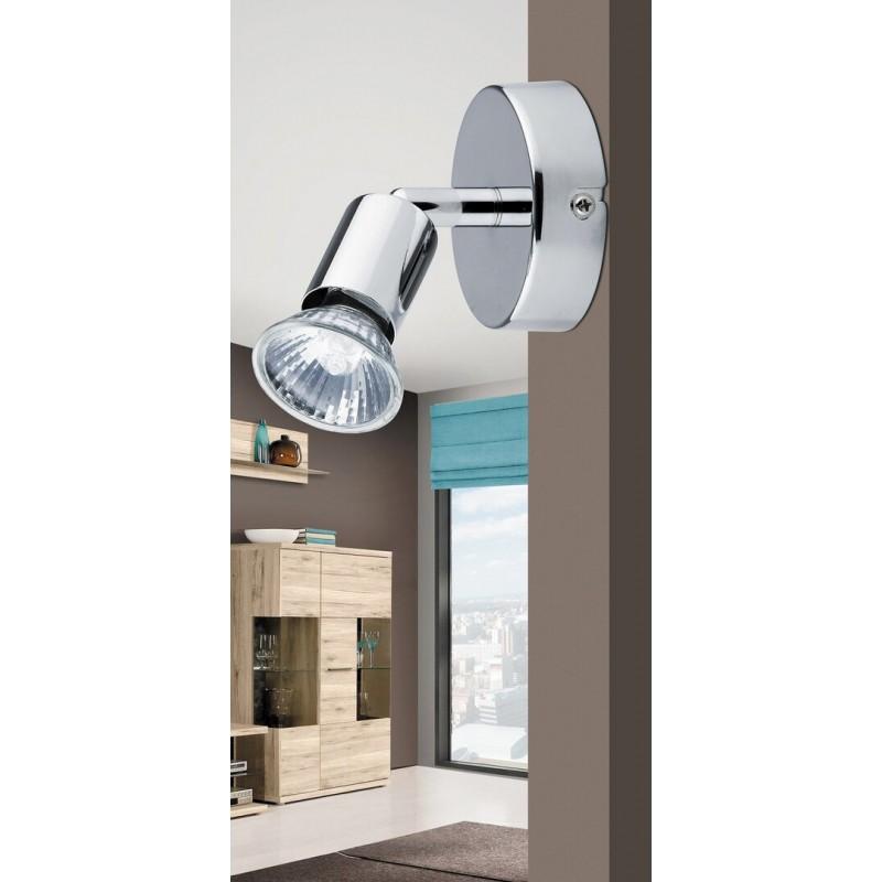 Lampa spot pentru perete metal cromat NORTON 6045