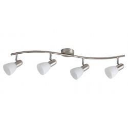 LAMPA SPOT CU PATRU ELEMENETE METAL CROMAT SOMA 6304