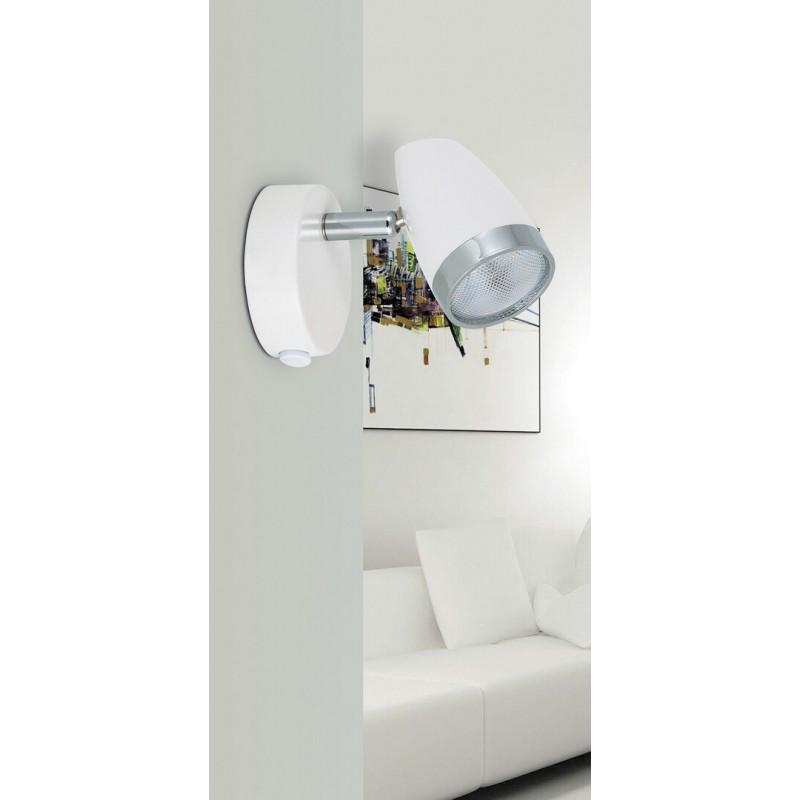 LAMPA DE PERETE METAL/PLASTIC ALB KAREN 6666 RABALUX