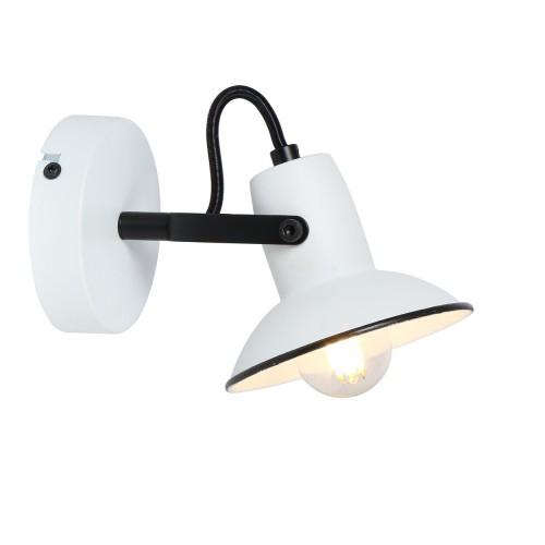 LAMPA DE PERETE METAL ALB MALIET 6788 INDUSTRIAL&NORDIC