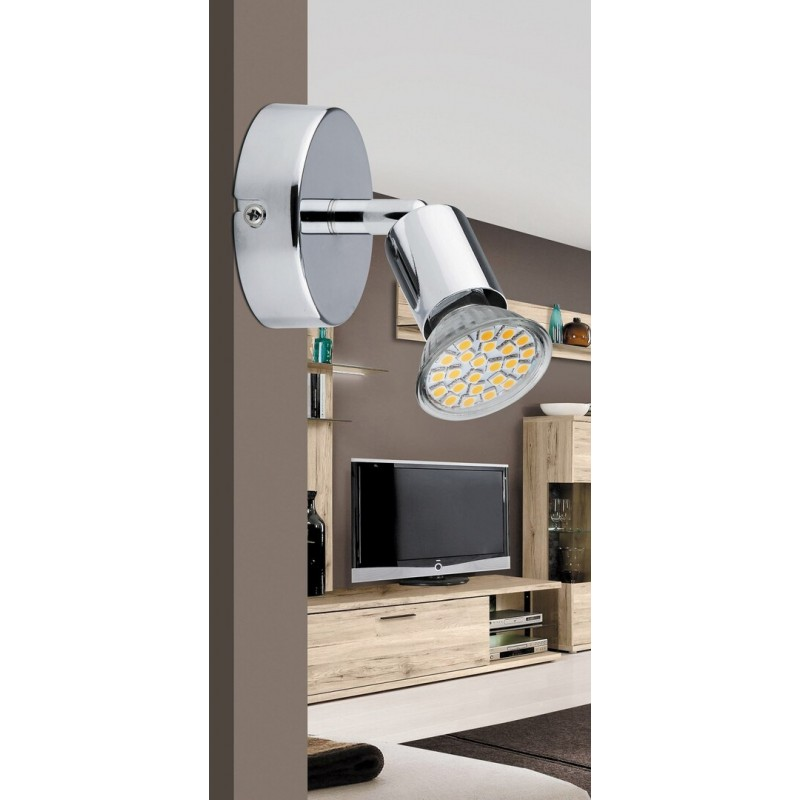 Lampa spot de perete metal cromat NORTON LED 6986