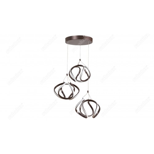 Lustra Ambrosio cu LED si structura metalica 5693 Rabalux