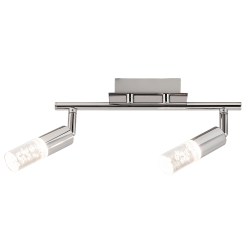 Aplica/Plafoniera Angela cu LED,structura metalica si abajur din acril 6676 Rabalux
