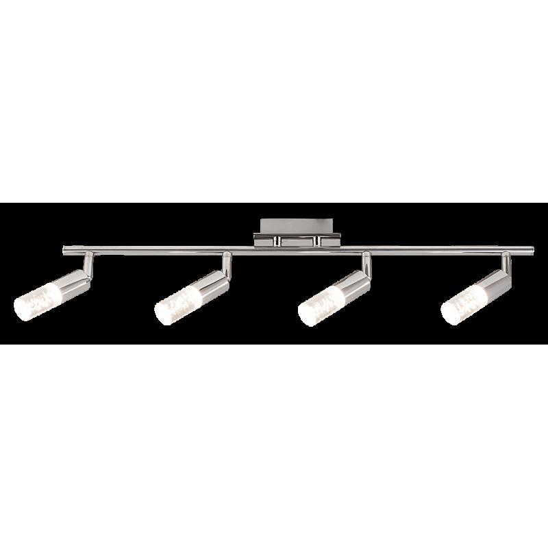 Plafoniera Angela cu LED,structura metalica si abajur din acril 6678 Rabalux