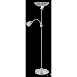 Lampadar Elle cu structura metalica si abajur din metal si cristal de sticla 6120 Rabalux