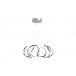 PENDUL CROM ABAJUR PLASTIC PALMIRA 5770