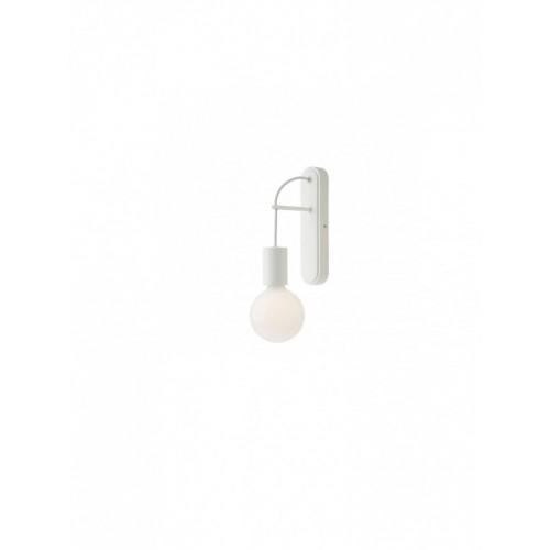 Aplica Mikado 01-1560, 1 x E27, alba