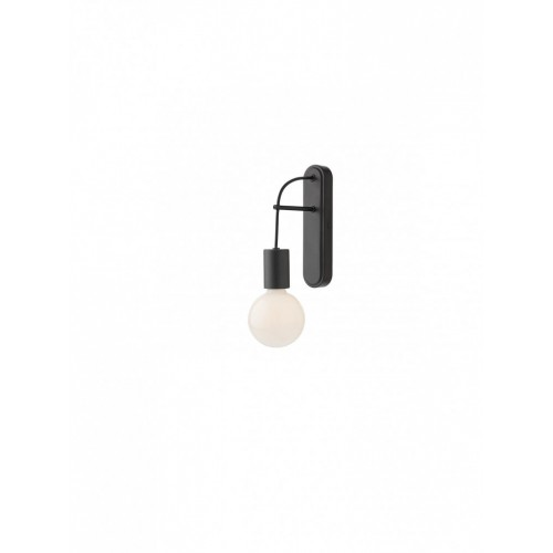 Aplica Mikado 01-1561, 1 x E27, neagra
