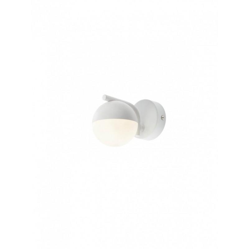 Aplica LED Lumo 01-2125, 6W, 433 lm, lumina calda, alb mat