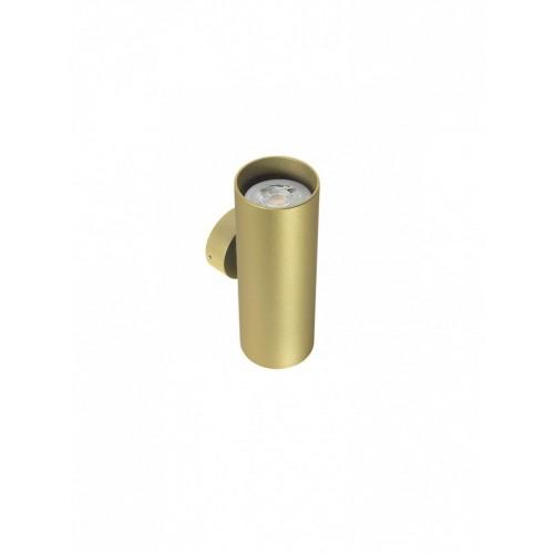 Aplica Axis 01-2161, 2 x GU10, auriu mat