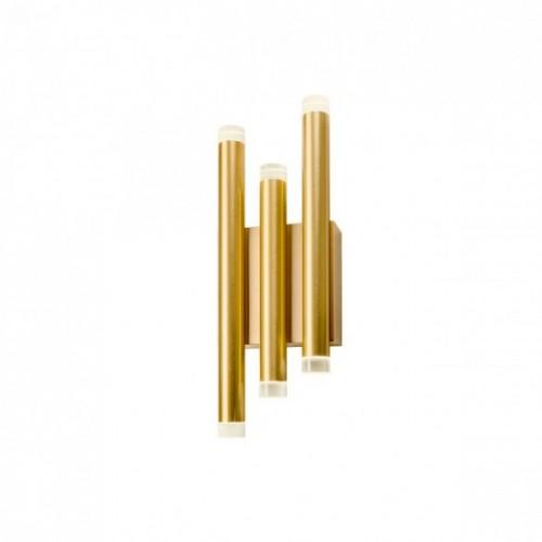 Aplica Redo Madison auriu mat LED 24W 1632 lumeni, alb cald 3000K, 01-2036