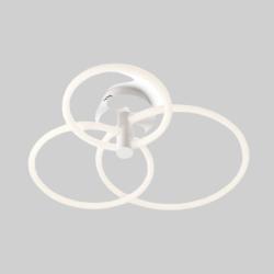Plafoniera Spell, alb mat, LED, 54W, 4374 lumeni, alb cald 3000K, 01-2225 REDO