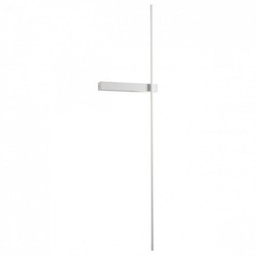 Aplica Tangent alb mat LED, 14W, 869 lumeni, alb cald 3000K, 01-2200 Redo