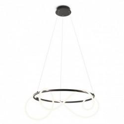 Suspensie Corral, negru mat, LED, 40W, 4080 lumeni, alb cald 3000K, 01-2111 REDO