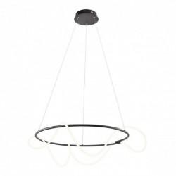 Suspensie Corral, negru mat, LED, 60W, 6180 lumeni, alb cald 3000K, 01-2113 REDO