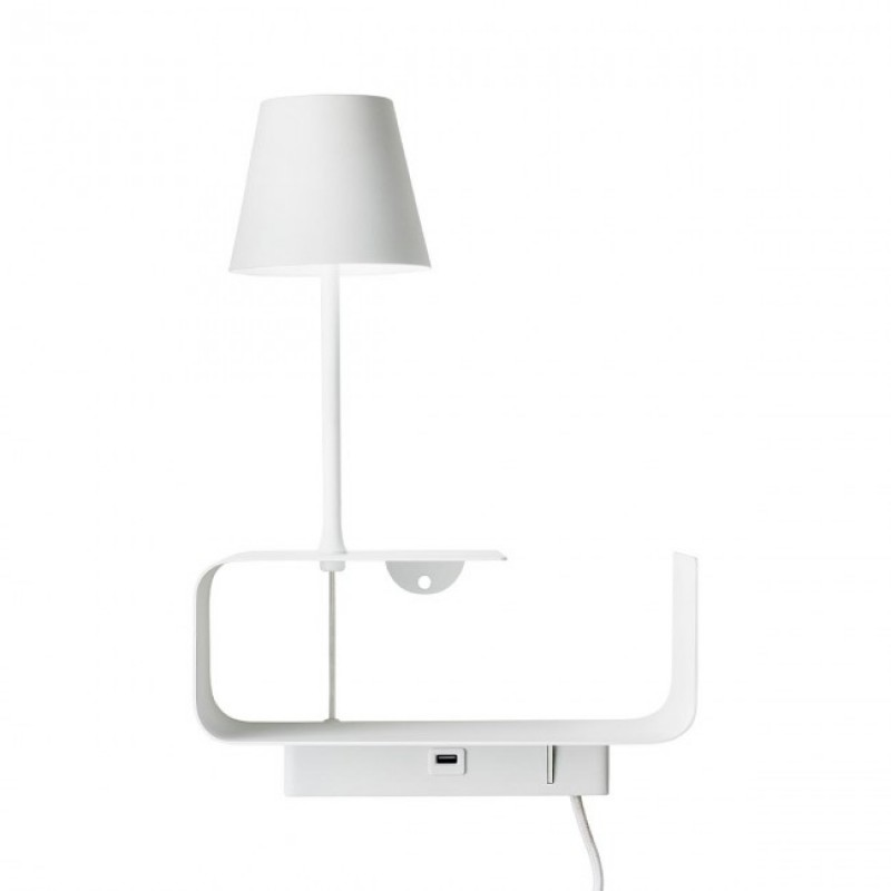 Aplica Ding cu LED si structura metalica 01-1481 Redo