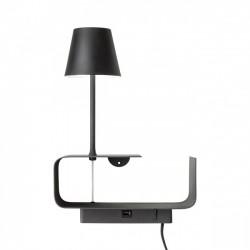 Aplica Ding cu LED si structura metalica 01-1482 Redo