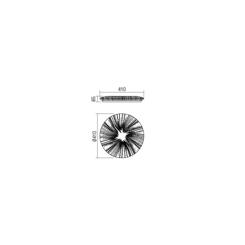 Plafoniera Hipno cu LED 05-885 Smarter