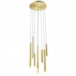 Lustra Redo Madison, auriu mat, LED, 32W, 2176 lumeni, alb cald 3000K, 40 cm, 01-2050
