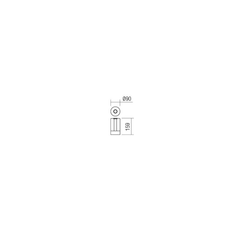 Veioza Tabby cu LED 01-1748 Smarter