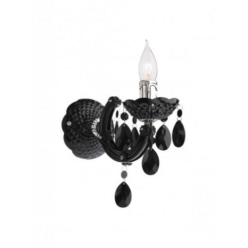 Aplica Bolero 06-001, 1 x E14, neagra