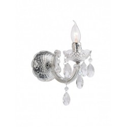 Aplică Bolero pentru interior, structură din metal cromat și acrilat transparent. 06-004 Smarter